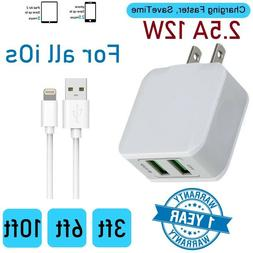 10W  Fast Quick Smart double USB Port wall charger Cube For
