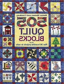 505 Quilt Blocks : Plus 36 Beautiful Projects to Make by Bet