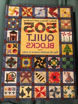 Better Homes And Gardens 505 Quilt Blocks plus 36 Beautiful