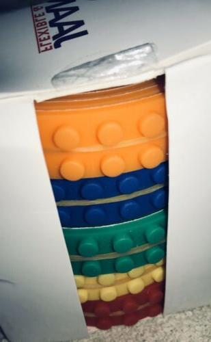 NEW Building Compatible Tape Rolls 2 Keychains