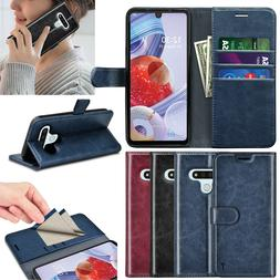 For LG Stylo 6 5 Phone Case Leather Wallet Card Holder RFID
