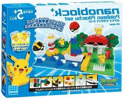 Kawada Nanoblock Plus Pokemon Pikachu Set PP-006 Express Shi