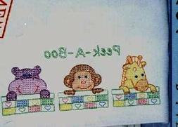 NURSERY BLOCKS to be embroidered    PLUS PC TO MATCH