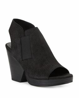 Eileen Fisher 'Plus' Block-Heel Sandals Black Size 9.5