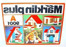 Marklin Plus HOUSE & BUILDING Set 2 Plastic Building Bricks