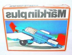 Marklin Plus PROPELLED AIRPLANE Plastic Building Bricks Bloc
