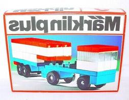 Marklin Plus TRANSPORT TRUCK & TRAILER Plastic Building Bric